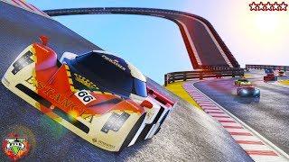 GTA 5 Online Racing Fun - Hanging With The Crew On GTA Online