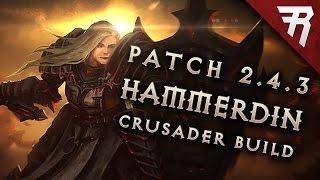 2.6.1 Crusader Hammerdin Build - Diablo 3 Reaper of Souls Season 15