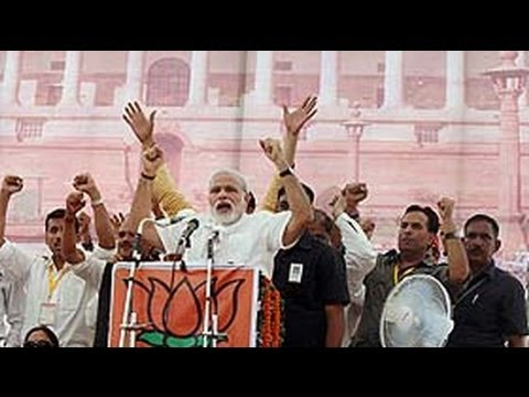 Problem not on border, problem in Delhi, says BJP's PM candidate Narendra Modi