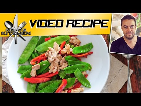 CHICKEN STIR-FRY - VIDEO RECIPE