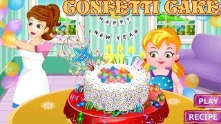 New Year Confetti Cake with Mum -  Kids Game