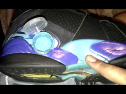 air jordan restoration (AQUA VIII HOW TO PAINT) 1st on youtube