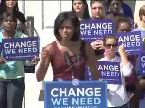 Michelle Obama and Jill Biden in Tallahassee, Florida Video