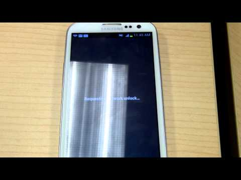 Samsung Galaxy S III (S3) Unlock with GSMLiberty.net Service