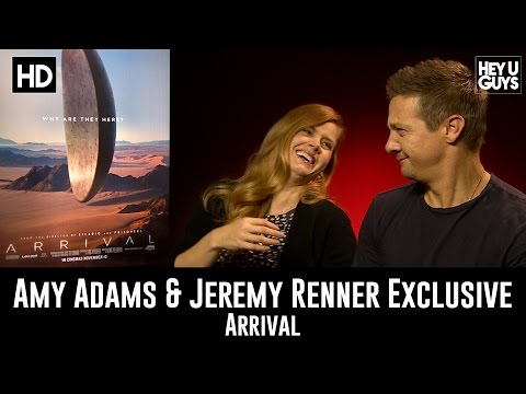 Amy Adams & Jeremy Renner - Arrival Exclusive Interview
