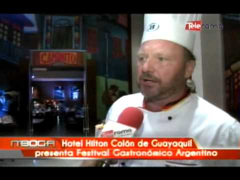 Hotel Hilton Colón de Guayaquil presenta festival gastronómico Argentino