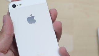 White iPhone 5 Unboxing 16GB