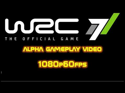 WRC 7 FIA World Rally Championship (2017) alpha gameplay video Mexico [1080p60fps]