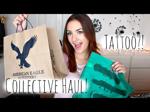 Collective Haul + New Tattoo!