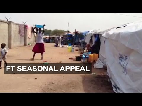 South Sudan's 2m displaced people