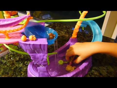 Polly Pocket Zipline Adventure Pool Review