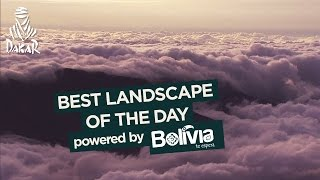Stage 4 - Paisaje del día / Landscape of the day / Paysage du jour; powered by Bolivia