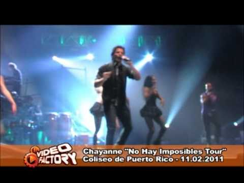 Chayanne en concierto desde Puerto Rico - 11.feb.2011