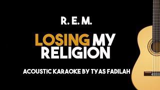 Download Lagu R. E. M. - Losing My Religion (Acoustic Guitar Karaoke Backing Track With Lyrics) Gratis STAFABAND