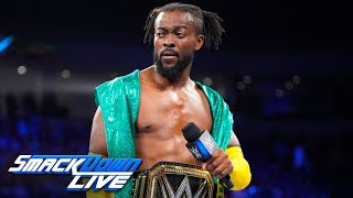 Kofi Kingston promises to never quit: SmackDown LIVE, June 4, 2019