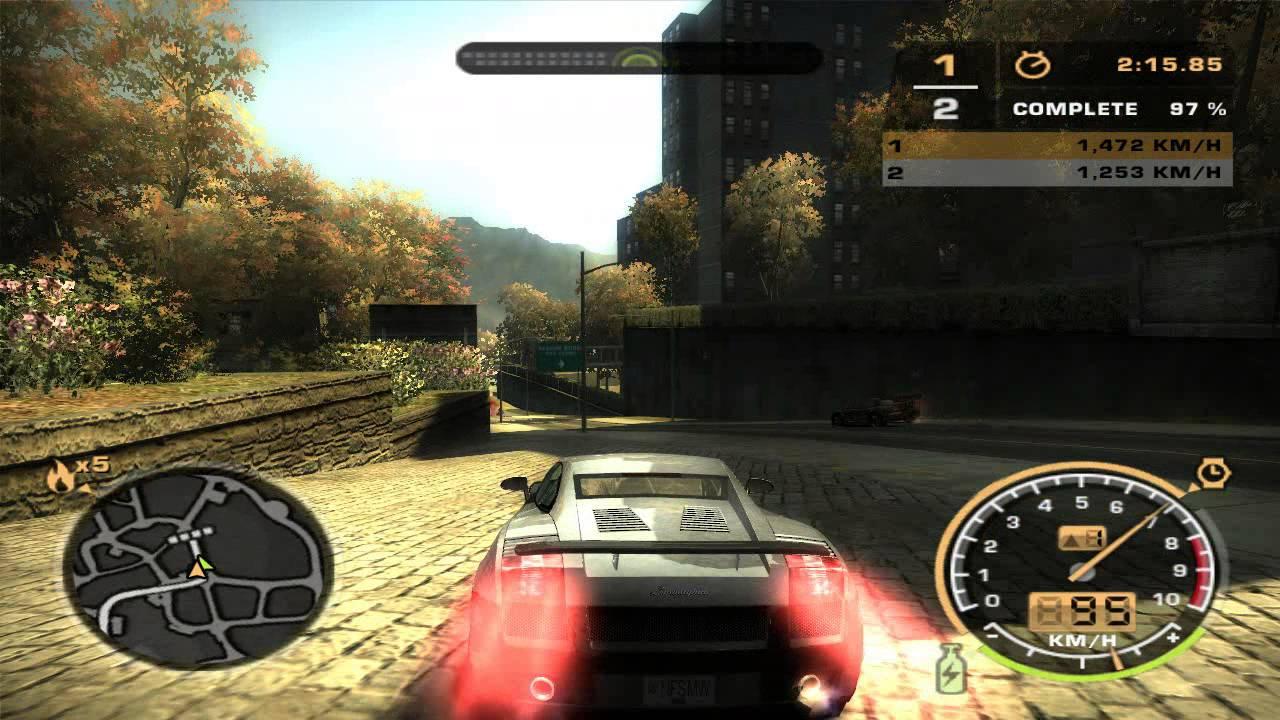 Need For Speed Most Wanted 2005 - Lamborghini Gallardo ...