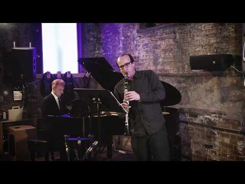 Max Johnson - Sonata for Clarinet and Piano (2016) performed by Ken Thomson and Steven Beck