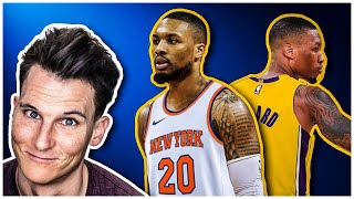 Damian Lillard TRADE rumors: KNICKS, LAKERS or FAKE NEWS??? [2020]