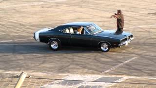 1969 Charger BURNOUT !!!