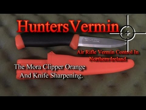 Mora Knife Review & Sharping By HuntersVermin June 2013