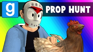 Gmod Prop Hunt Funny Moments - Chicken Innuendo (Garry