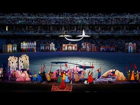 Opening Ceremony Baku 2015 European Games   Full Version HD