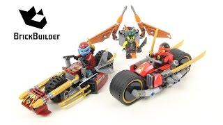 Lego Ninjago 70600 Ninja Bike Chase - Lego Speed build