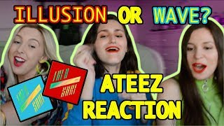 ATEEZ(에이티즈) - 'ILLUSION' and 'WAVE' ATINY MV REACTION