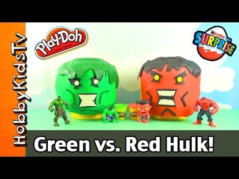Green Hulk Red Hulk Red Hulk Makeover