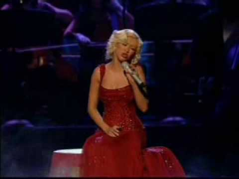 Christina Aguilera - Hurt (live) video