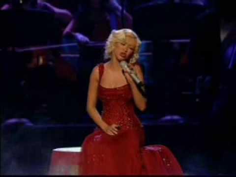 Christina Aguilera - Hurt (live) video