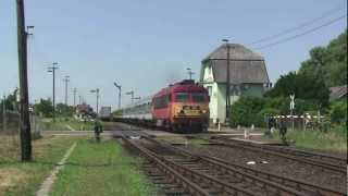 Railways in Hungary June 2012 Part Two
