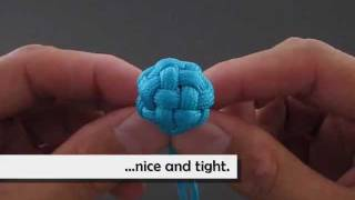 How to Make a Tiny Globe Knot by TIAT