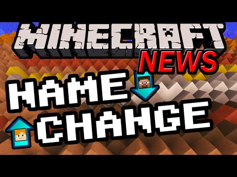 Minecraft News: Name Changing & New Launcher! How to Change Username, Moj