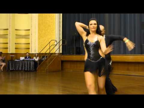 2015 Australian Bachata Championship - Pro/Am Freestyle - Christian and Angela