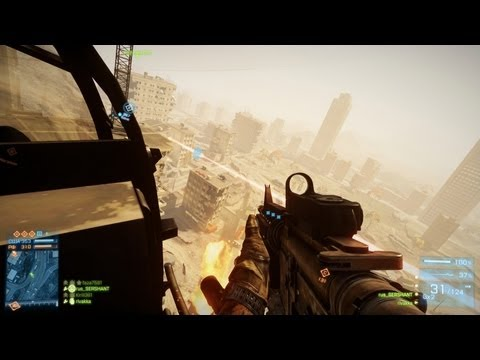 Конец света и Русский Мясник - Battlefield 3 Aftermath