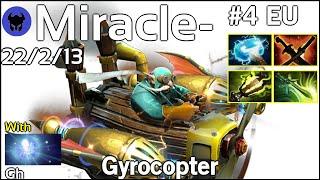 Miracle- [Liquid] plays Gyrocopter!!! Dota 2 7.21