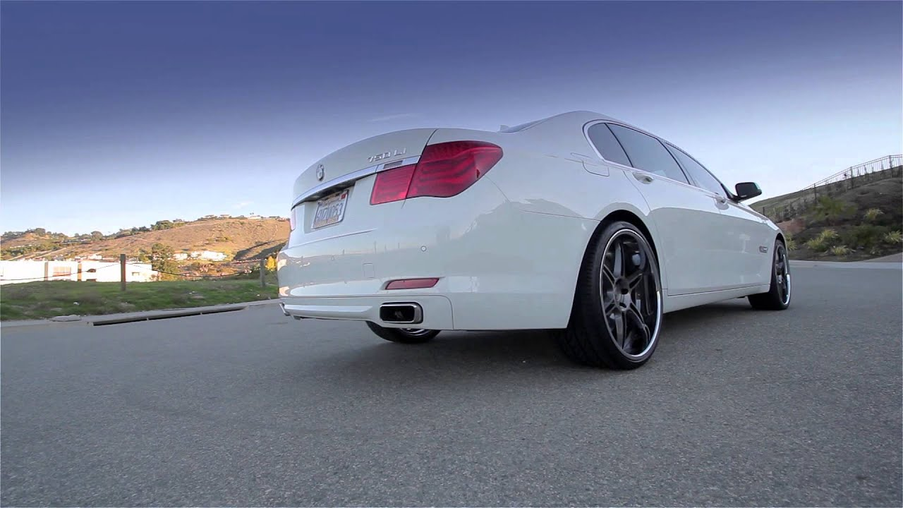 "BMW 750li on 22"" Niche Lugano 6 Wheels 