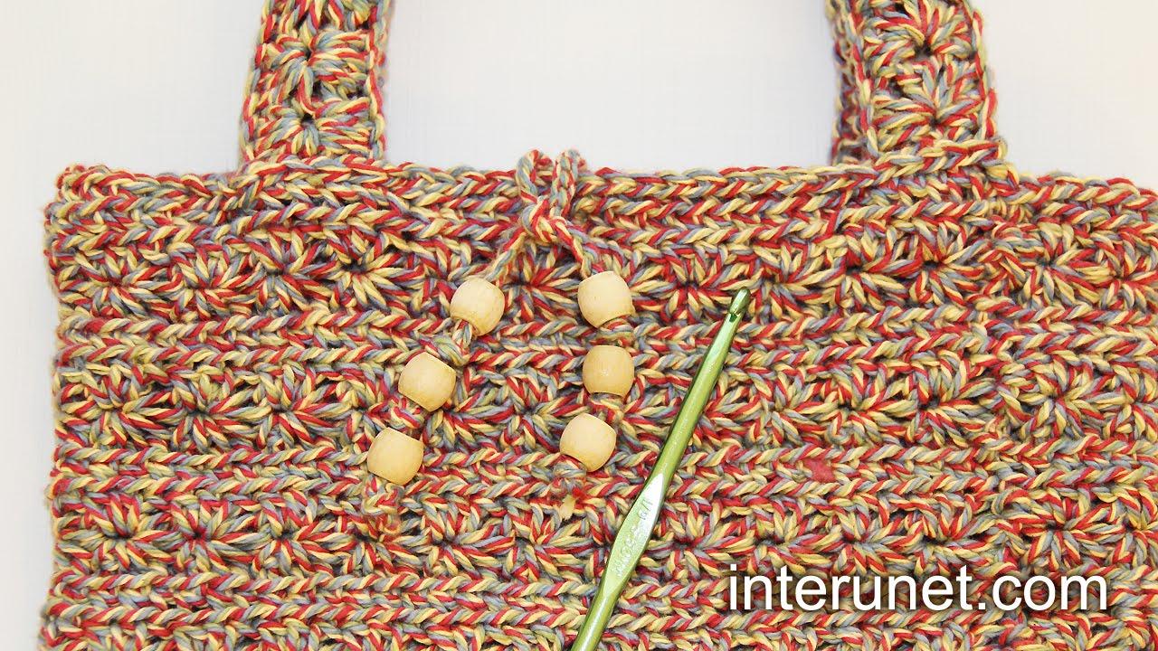 How To Crochet A Handbag : How to crochet a handbag - women?s purse crochet pattern - YouTube