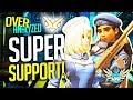 Overwatch Coaching - GM SUPER Support! Ana, Moira, Mercy! [OverAnalyzed]