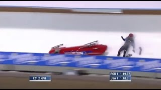 2012 Bobsled World Cup Crash - V8SC Commentary