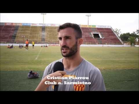 El capitán Sarmiento nos cuenta como están terminando la preparación para la segunda fase del Torneo Federal A.
