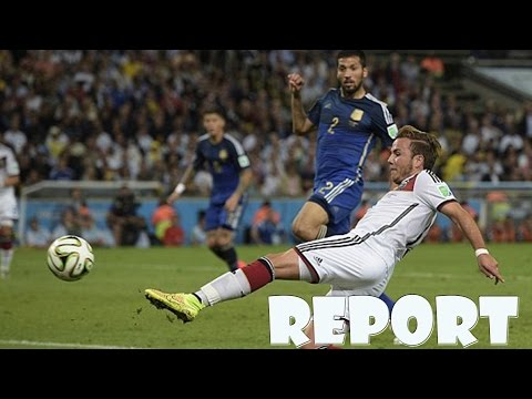 Germany vs Argentina 1-0 2014 Full match Goal and highlights report images - World Cup Brazil 2014