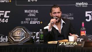 UFC 244: Post Fight Press Conference Highlights