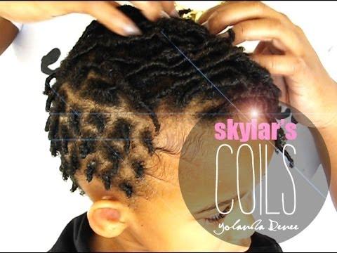 NATURAL HAIR SKYLARS FINGER COILS COMB COILS YouTube