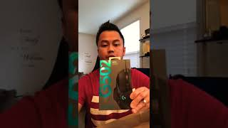 Unboxing Logitech G502 hero gaming mouse