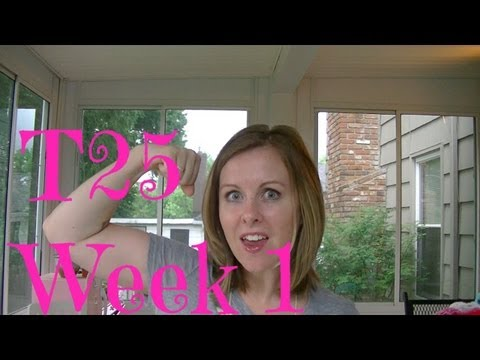 T25 Week 1 My mistakes. Thoughts. & I Reached My Goal! 10 pounds down!