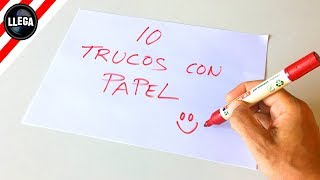 download musica 10 TRUCOS INCREÍBLES CON PAPEL