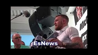 WOW Conor McGrgeor Opens About Khabib Fight Keeps It 100
