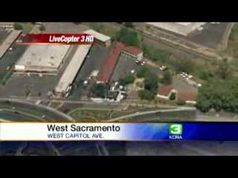 West Sacramento Burns Down Motel